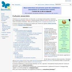Cultures associées