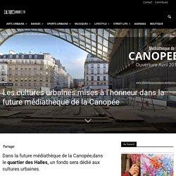 Les cultures urbaines dans la médiathèque de la Canopée