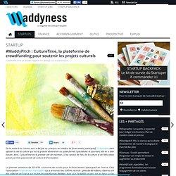 #MaddyPitch : CultureTime, la plateforme de crowdfunding pour soutenir les projets culturels