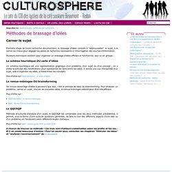 Culturosphère - Méthodes de brassage d'idées