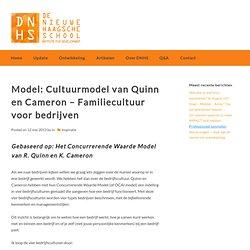Model: Cultuurmodel van Quinn en Cameron - Familiecultuur voor bedrijven - DNHS