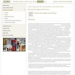 Seneca, De lengte van het leven - Vlaamse Vereniging voor Leraren Geschiedenis en Cultuurwetenschappen