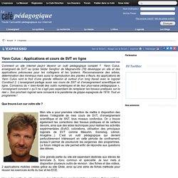 Yann Culus : Applications et cours de SVT en ligne