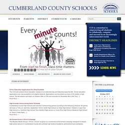 Cumberland County Schools - Fayetteville, North Carolina
