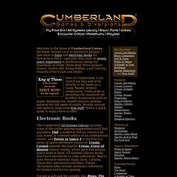 Cumberland Games & Diversions