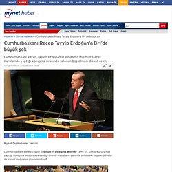 Cumhurbaşkanı Recep Tayyip Erdoğana Bmde Büyük Şok Haberi ve Son Dakika Haberler Mynet