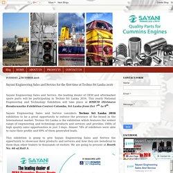 Techno Sri Lanka 2016 - Sayaniengg.com