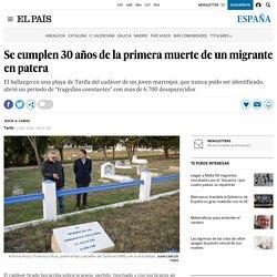 Se cumplen 30 años de la primera muerte de un migrante en patera