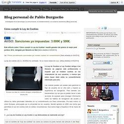 Blog personal de Pablo Burgueño