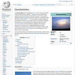 Cumulonimbus