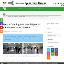 Merce Cunningham dévoilé par la danseuse Anna Chirescu
