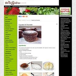 Cupcake de Chocolate - MuitoGostoso