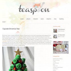 Cupcake Christmas Tree | teaspoon