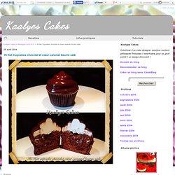 Hi Hat Cupcakes chocolat et cœur caramel beurre salé