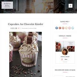 Cupcakes au chocolat Kinder