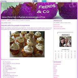Cupcakes salés à la courgette et au parmesan - Friends & Co