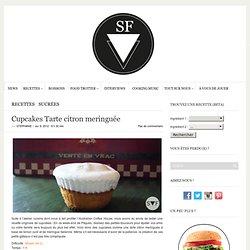 Cupcakes Tarte citron meringuée