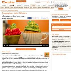 Cupcakes : Réaliser de jolis cupcakes facilement en vidéo - Vidéo cuisine