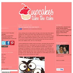 The owl cupcake Oreo eyes have it