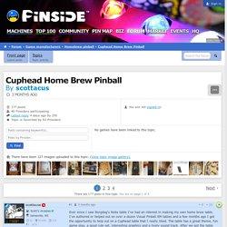 Cuphead Home Brew Pinball