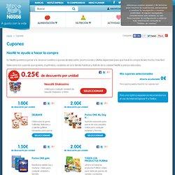 Cupones Nestlé - agustoconlavida.es