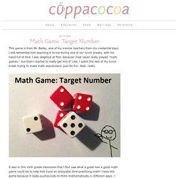 Math Game: Target Number