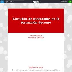 Curación de contenidos en la formación docente