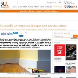 CuratedAI, un magazine littéraire écrit par des robots