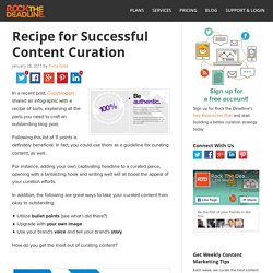 Curating Content: Tips and Best Practices