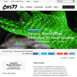 Curatio: World's First Dedicated 3D Hand Scanner