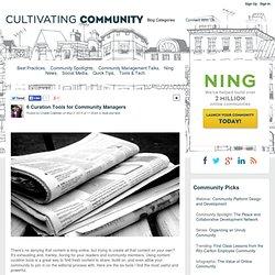 6 outils de curation pour CM