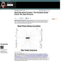 Real-Time News Curation - The Complete Guide Part 6: The Tools Universe