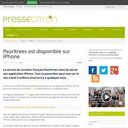 Le service de curation français Pearltrees débarque sur iPhone