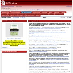 On Digital Curation - LibGuides at Univ. of South Dakota
