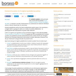 Content Curation: le 5 migliori piattaforme online - Boraso.com