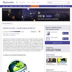 Science et curation : nouvelle pratique du Web 2.0