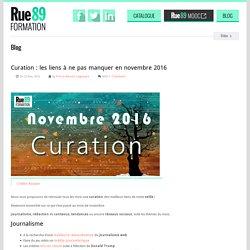 Curation : les liens à ne pas manquer en novembre 2016