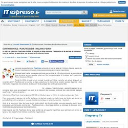 Curation sociale : Pearltrees lève 5 millions d'euros
