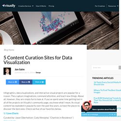 5 Content Curation Sites for Data Visualization