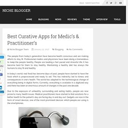 Best Curative Apps for Medic's & Practitioner's