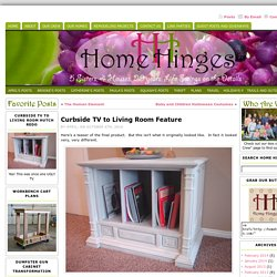 Curbside TV to Living Room Feature « Home Hinges