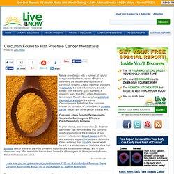 Curcumin Found to Halt Prostate Cancer Metastasis