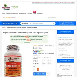 Super Curcumin C3 Specials Buy Curcumin turmeric Supplement