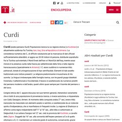 Curdi nell'Enciclopedia Treccani
