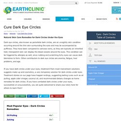 Cure Dark Eye Circles