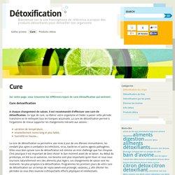 Cure détoxifiante
