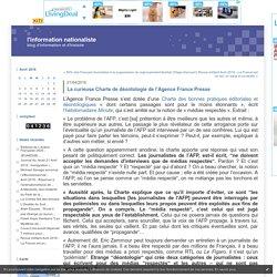 La curieuse Charte de déontologie de l'Agence France Presse