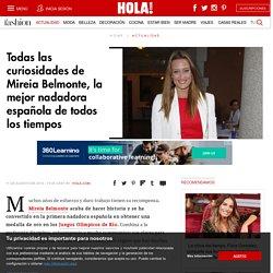 Todas las curiosidades de Mireia Belmonte, la mejor nadadora española de todos los tiempos