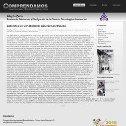 Gabinetes De Curiosidades: Base De Los Museos - AlephZero@Comprendamos