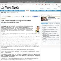 Más curiosidades del español escrito